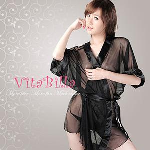 【伊莉婷】VitaBilla 沐浴激情 睡裙+小褲 二件組 D000910413
