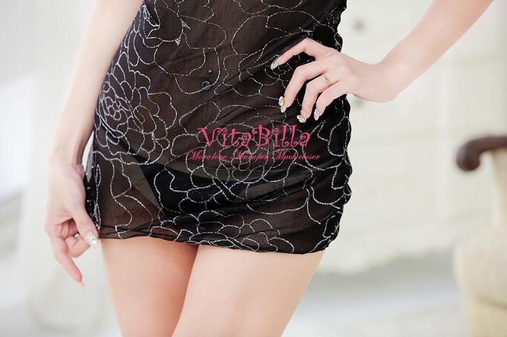 VitaBilla 野性魅惑 睡裙+小褲 二件組