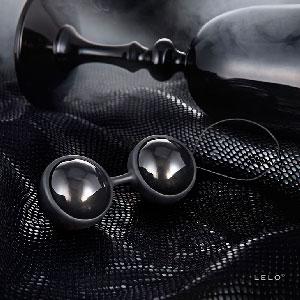 【伊莉婷】瑞典 LELO LUNA BEADS NOIR 露娜球黑珍珠 後庭專用 露娜女性按摩球 LE27769 陰道 後庭兩用球 格雷的50道陰影