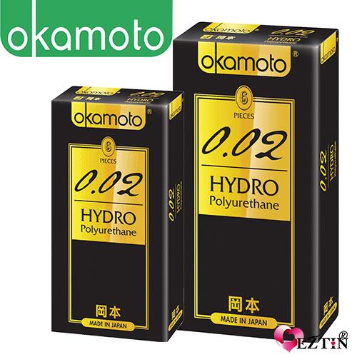 【伊莉婷】日本 OKamoto 岡本 002 水感勁薄 保險套6入*3 CO-70231-3 組合不列入保險套活動