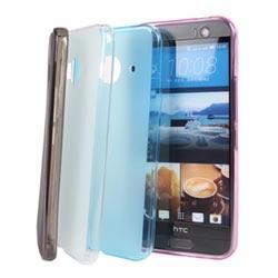 Ultimate-HTC ONE ME 輕量霧面氣質軟質手機保護殼 防摔背蓋果凍套 保護套 手機殼
