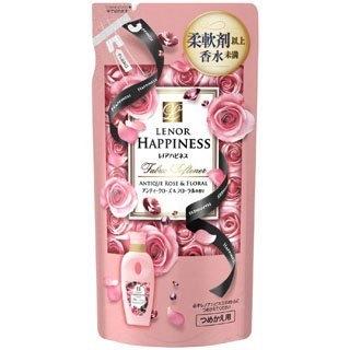 【日本P&G】粉紅玫瑰柔軟精 補充包-480ml (配合芳香粒可產生更多香氣) 柔軟劑以上,香水未滿的秘密 綾瀨遙代言