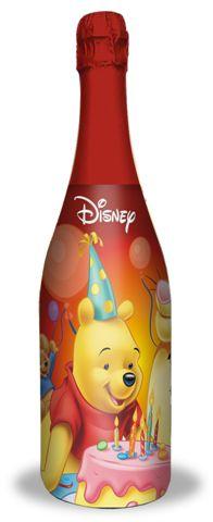 迪士尼小熊維尼無酒精氣泡飲料(白葡萄) 750ml