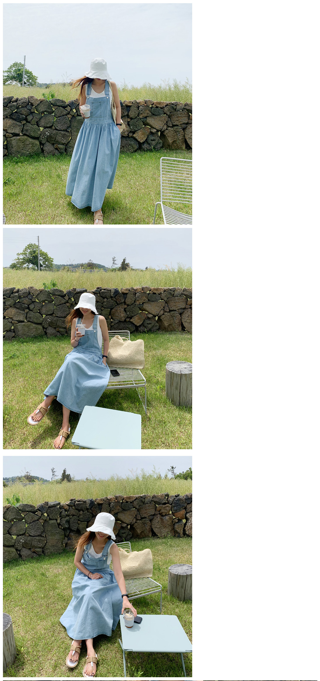 限定特價 / 牛仔背心裙  韓系 性感時尚代表吊帶裙 艾爾莎  【TLS00323】