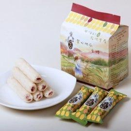 【淘氣寶寶】用台灣米作的米捲:米香抱抱 米捲 香甜雞蛋【100%純米餅身,採用天然食材製作/通過ISO22000驗證】