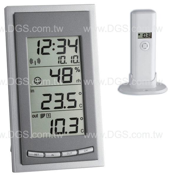 《TFA》無線室內外溫濕度計DIVAGO Hi/Lo Memory DIVA GO Wireless Thermo-Hygrometer