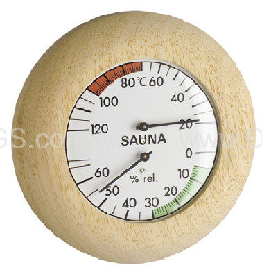 《TFA》毛髮溫濕度計三溫暖用指針型Sanua-Thermometer