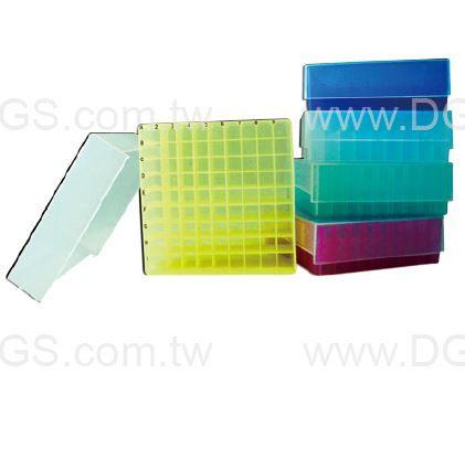《台製》 微量離心管盒81孔 81-Well Microtube Storage Boxes,PP