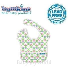 圍兜口水巾-美國Bumkins Super Bib透氣防水防臭兒童圍兜口水巾-繽紛小亭子(S204)