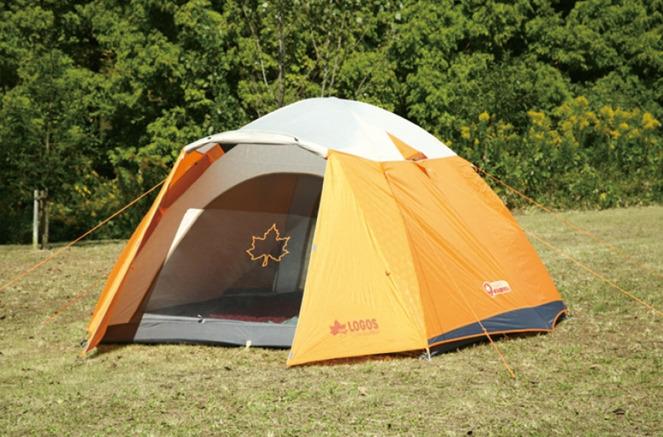 【露營趣】中和 附鋁墊 LOGOS LG71801725 桔楓300FR-IZ 六人露營帳篷 家庭帳篷