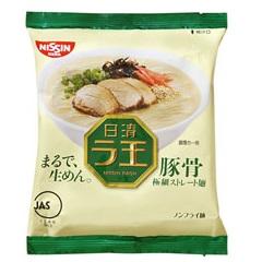 【糖果王】日本日清 拉麵王 (豚骨口味)單包 日本男星西島秀俊代言
