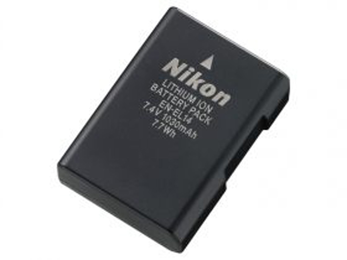 Nikon EN-EL14 原廠電池 P7100 P7000 D3100 D5100 適用 【ANIABA】