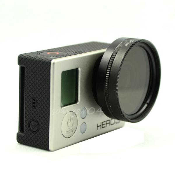 副廠 GOPRO HERO3 HERO3+ 37mm UV保護鏡 UV鏡+轉接環+鏡頭蓋 【BGPA84】