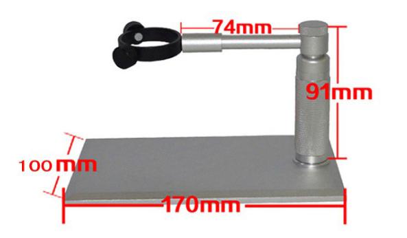 數位顯微鏡 升降台式支架 適用於USB顯微鏡 電子顯微鏡 可微調 【MICAB3】