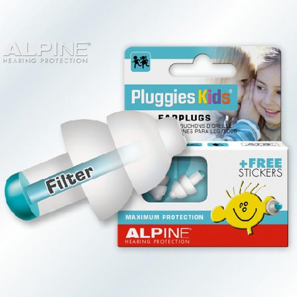 荷蘭原裝進口 Alpine Pluggies kids 頂級兒童全效飛行耳塞