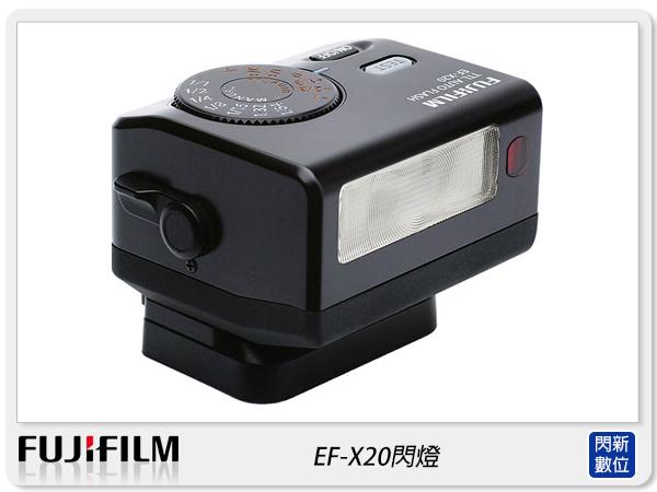 【分期0利率,免運費】預訂 Fujifilm 富士 EF-X20 原廠閃燈 閃光燈(恆昶公司貨)適X20/XPRO2
