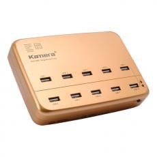 Kamera SP-10U USB 10Port電源供應器-金