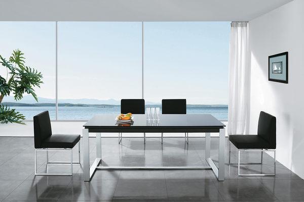 【石川家居】GD-630-1 雷納德5尺玻璃會議桌 (不含其他商品) 台中以北搭配車趟免運