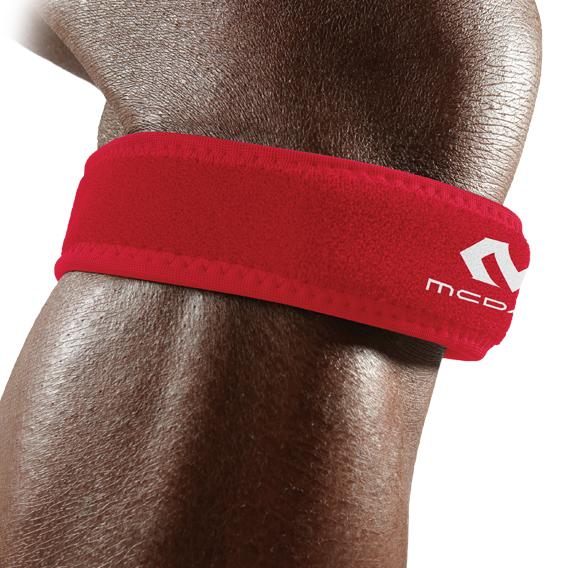 McDavid [414] 跳躍專用護膝 - 炙紅