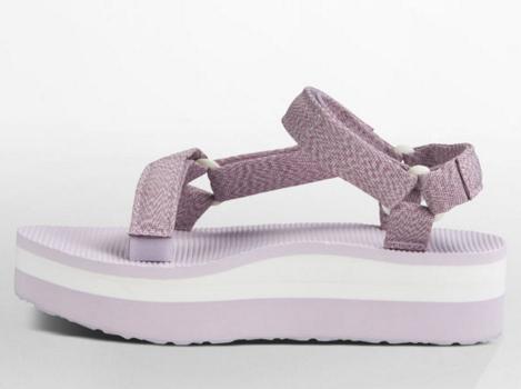[陽光樂活] TEVA (女) FLATFORM UNIVERSAL 厚底 織帶涼鞋 復古涼鞋 ORIGINAL -TV1008844MOHD