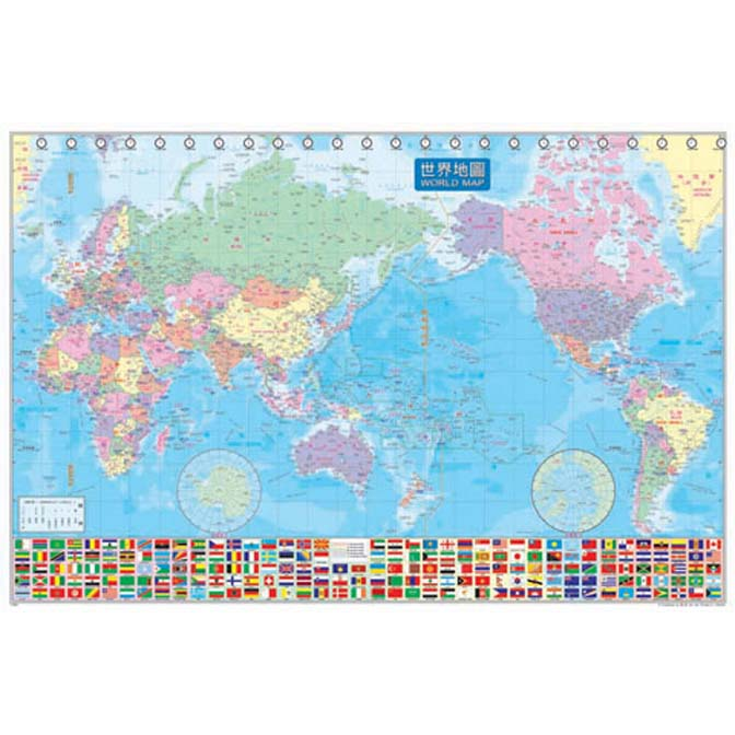 1000片拼圖 收集世界-世界地圖