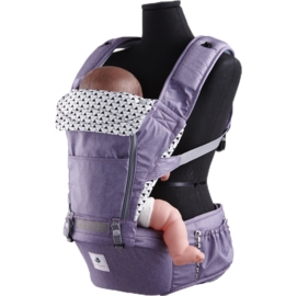 *babygo*韓國 Pognae-No.5超輕量機能坐墊型揹巾【米蘭紫】^ ^買就送護唇膏