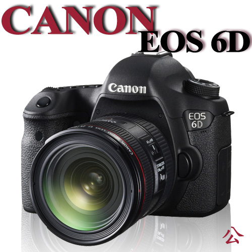 【★送SANDISK ULTRA SDHC-32G卡+副電+快門線+吹球清潔組】Canon EOS 6D 24-70 F4L IS USM 【公司貨】回函送原電+SANDISK PRO SD 64G ..