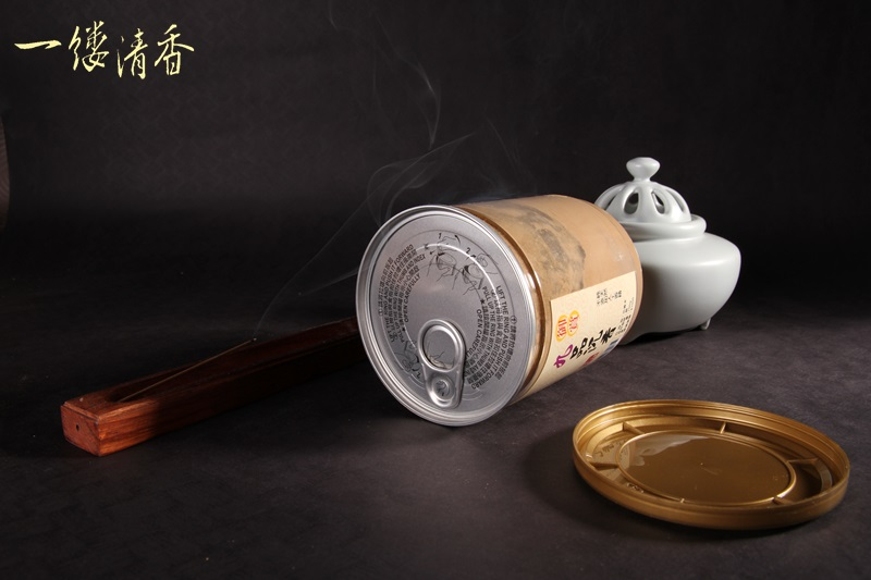 一縷清香 [A1御賞九品沉香粉 150g易開罐裝] 台灣香 沉香 檀香 富山 如意 印尼 越南 紅土 奇楠 大樹茶
