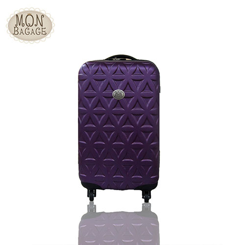 ★MON BAGAGE 金磚滿滿20吋ABS霧面輕硬殼旅行箱/行李箱