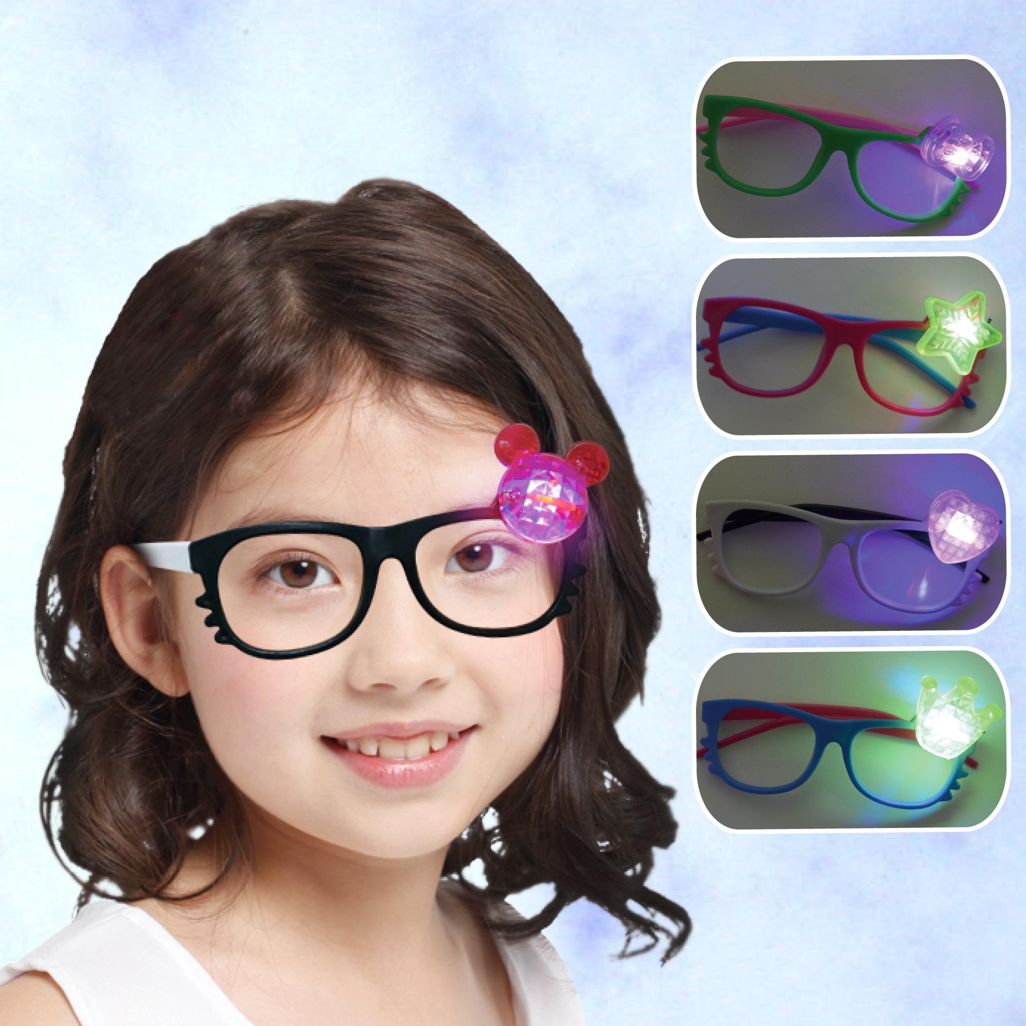 X射線【W274875】可愛貓亮燈造型眼鏡,萬聖節/派對用品/舞會道具/cosplay/角色扮演/搞笑/面具/年終尾牙/慶生/kitty
