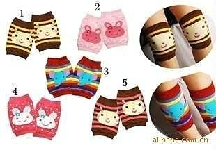=優生活=NISSEN款 超實用 寶寶爬行必備護膝套 可愛護膝套 護腿套 兒童襪套 短襪子