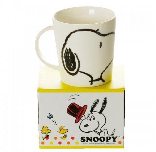 【真愛日本】14121100024 SN摩卡馬克杯 史努比 SNOOPY 杯子 馬克杯 陶瓷