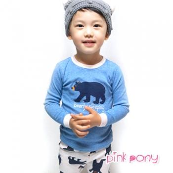 【Pink Pony】韓國vaenait長袖居家服(北極熊)