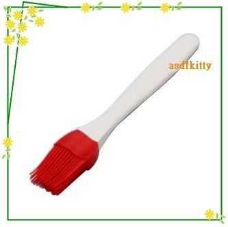 廚房【asdfkitty】日本CAKELAND紅色耐熱矽膠刷-刷蛋汁奶油-不掉毛.易清洗-日本製