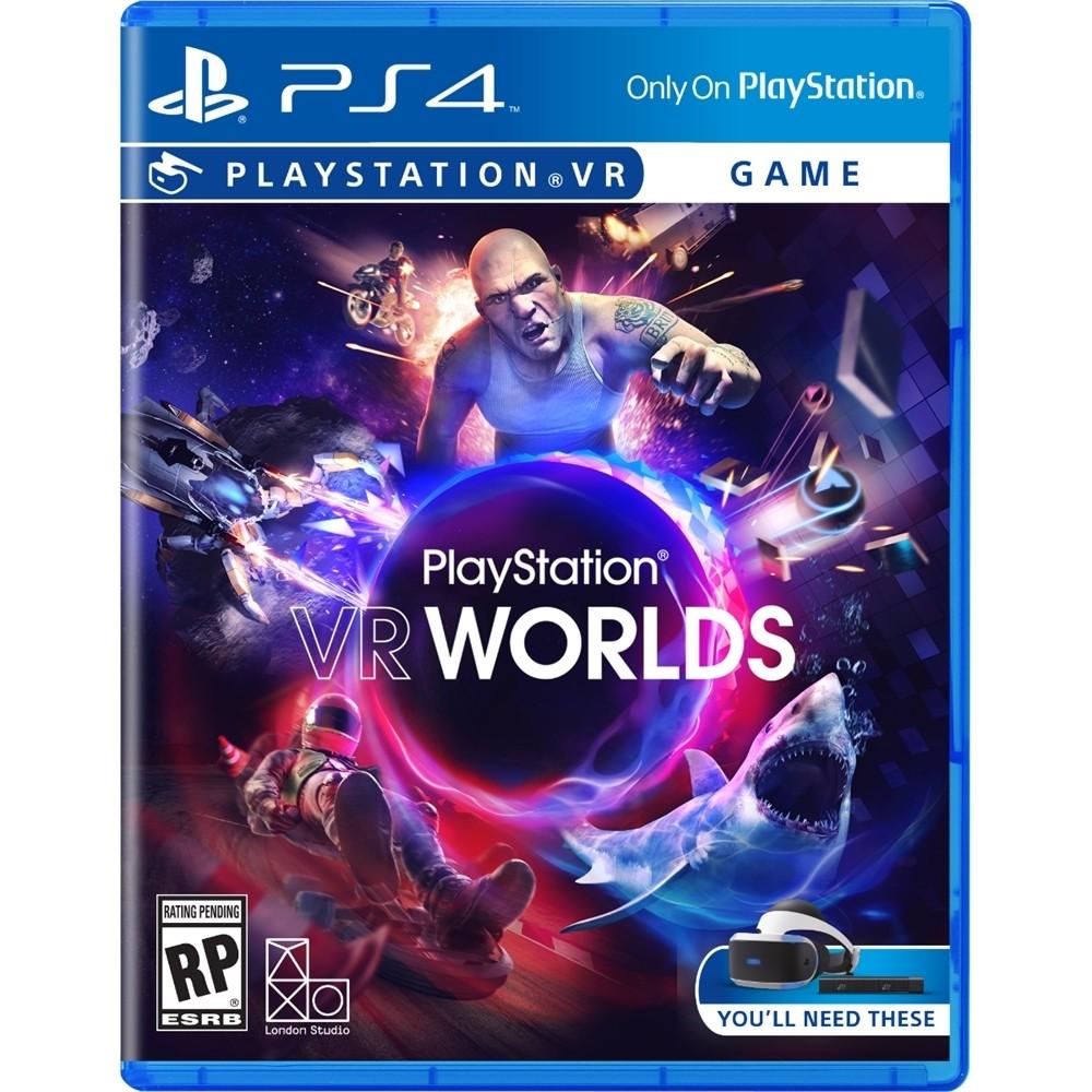 現貨供應中 中文版 PSVR專用軟體 [限制級] PS4 PlayStation VR WORLDS