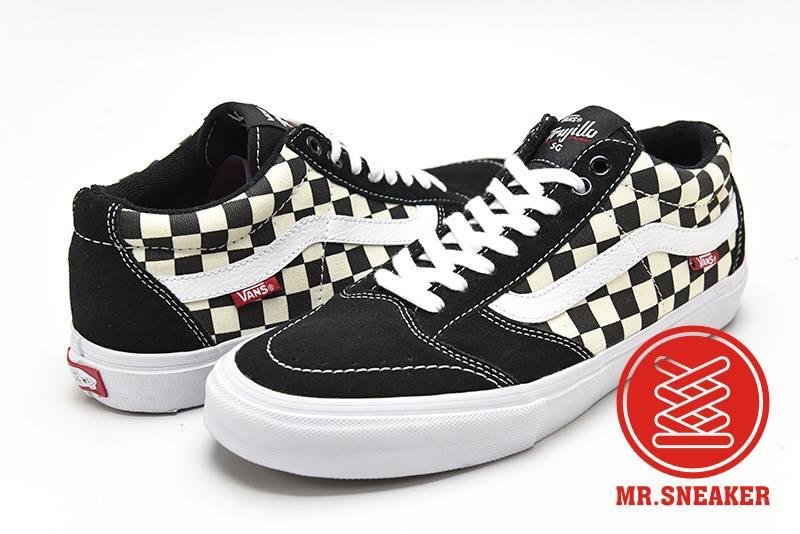 ☆Mr.Sneaker☆ VANS x Tony Trujillo Pro SG 專業滑板鞋 棋盤格 男款 黑白 聯名