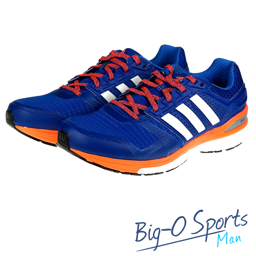 ADIDAS 愛迪達SUPERNOVA SEQUENCE BOOST 慢跑鞋 男 B33622 Big-O SPORTS