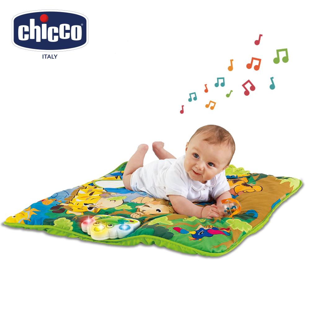 chicco動物叢林音樂遊戲墊