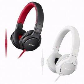 志達電子 MDR-ZX750AP 紅/白 SONY 線控麥克風 耳罩式耳機 For Android Apple