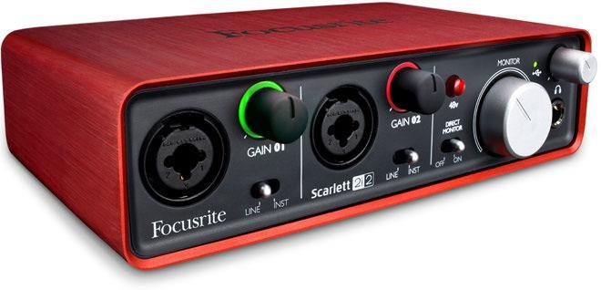 全新盒裝Focusrite Scarlett 2i2 USB介面錄音卡 2in/2out
