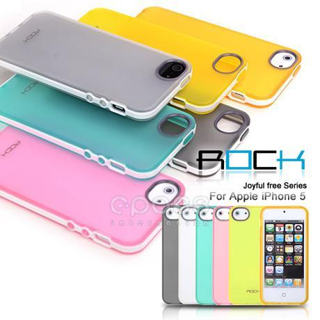 【ROCK暢動】免運出清 APPLE iPhone 5 /  iPhone 5S / iPhone SE 雙料保護殼