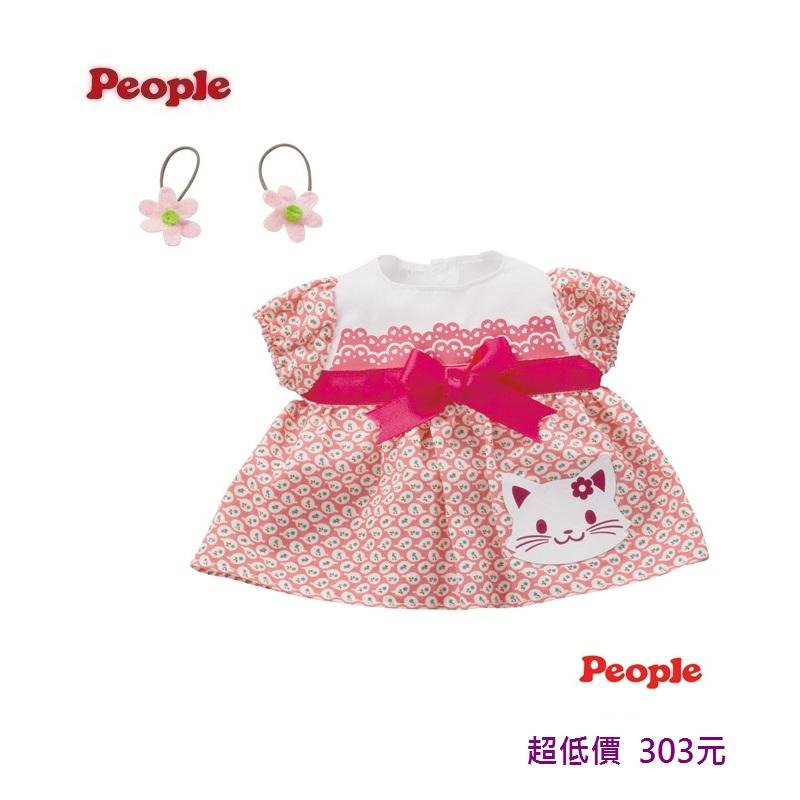 *美馨兒* 日本 People -POPO-CHAN蝴蝶結小貓洋裝組合 303元