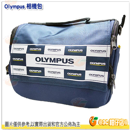 OLYMPUS 原廠 相機包 藍色 公司貨 單肩背包 側背 適 EM1 EM5 EM10 EP5 EPL7 PENF