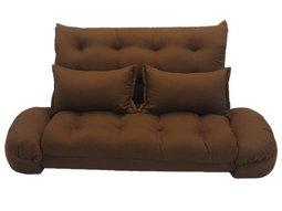 【台客嚴選】卡莉爾沙發床椅-咖啡色