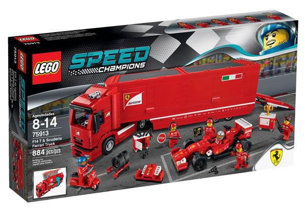 【LEGO 樂高積木】Speed 賽車系列 - 法拉利 F14 T 和保母卡車 LT-75913