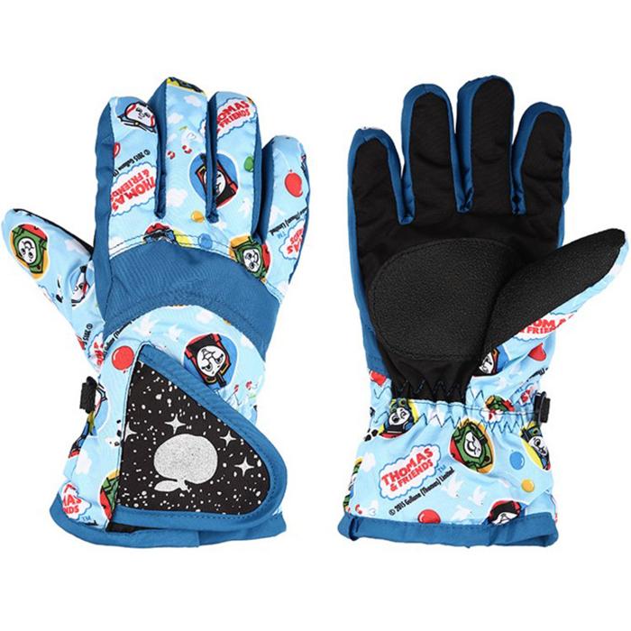 糖衣子輕鬆購【DS183】兒童青少年戶外登山運動自行車滑雪防風防水保暖手套