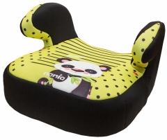 *babygo*法國 NANIA 納尼亞輔助墊汽車安全座椅【熊貓綠】