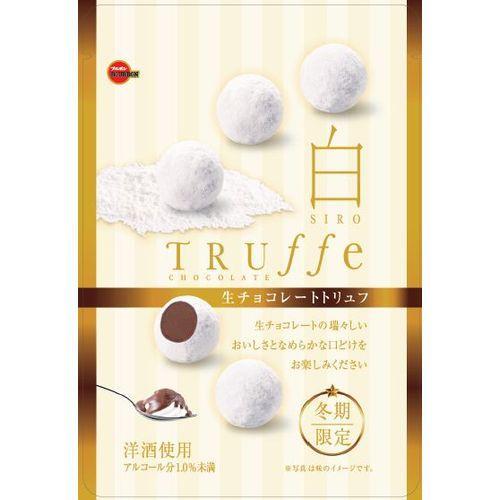 【冬季限定】Bourbon北日本白松露巧克力 (52.5g) Truffe Chocolate ???? 白??????????