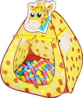 親親 長頸鹿帳篷+100球/彩盒裝 CBH-11【德芳保健藥妝】