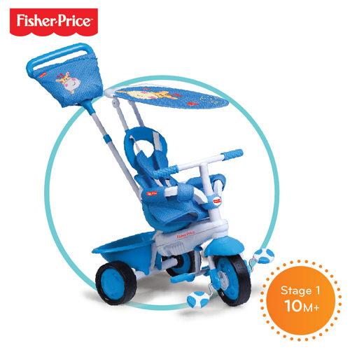 Fisher-Price費雪 繽紛嬰幼3合1 三輪車(長頸鹿)【德芳保健藥妝】